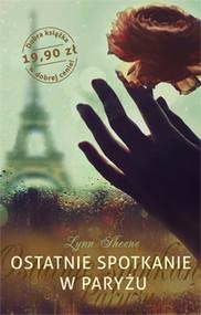 okładka Ostatnie spotkanie w Paryżu, Książka | Sheene Lynn