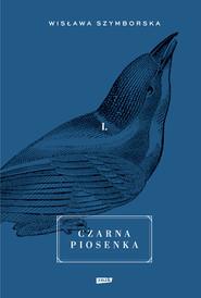 okładka Czarna piosenka, Książka | Szymborska Wisława