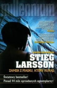 okładka Zamek z piasku, który runął, Książka | Larsson Stieg
