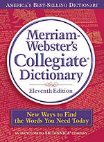 okładka Merriam-Webster's Collegiate Dictionary, Książka |