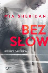 okładka Bez słów, Książka | Sheridan Mia