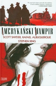 okładka Obrazy Grozy. Amerykański wampir, Książka | King Stephen