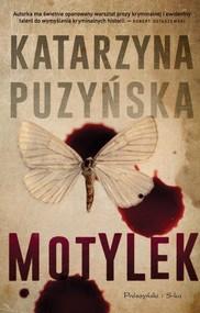 okładka Motylek, Książka | Puzyńska Katarzyna