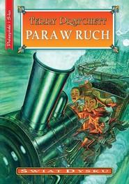 okładka Para w ruch, Książka | Pratchett Terry