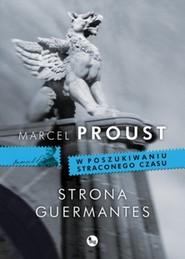 okładka Strona Guermantes, Książka | Proust Marcel