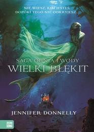 okładka Saga Ognia i Wody. Wielki Błękit, Książka | Donnelly Jennifer