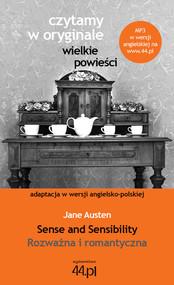 okładka Sense and Sensibility. Rozważna i romantyczna, Książka | Austen Jane