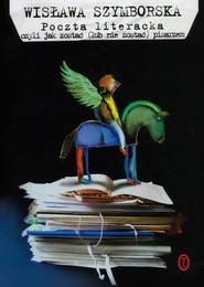 okładka Poczta literacka, Książka | Wisława Szymborska