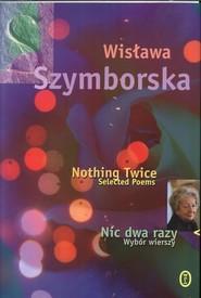 okładka Nic dwa razy, Książka | Szymborska Wisława