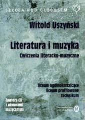 okładka J.p Ćwiczenia liter-muzyczne LO (+2 CD gratis!). Książka | papier | Uszyński Witold