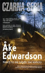 okładka Niech to się nigdy nie kończy, Książka | Åke Edwardson