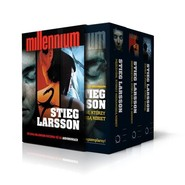 okładka Trylogia Millennium. Pakiet, Książka | Larsson Stieg