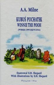 okładka Kubuś Puchatek wersja dwujęzyczna. Książka | papier | Alan Alexander Milne