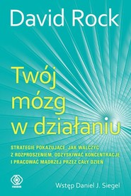 okładka Twój mózg w działaniu, Książka | David Rock