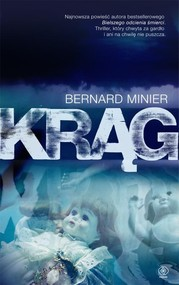 okładka Krąg, Książka | Minier Bernard