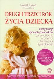 okładka Drugi i trzeci rok życia dziecka, Książka | Heidi Murkoff, Sharon Mazel