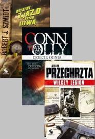 okładka Dziecię ognia + Ostatni zjazd przed Litwą + Wilczy legion, Książka   Connolly Harry