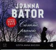 okładka Ciemno prawie noc audiobook, Książka | Joanna Bator