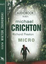 okładka Micro audiobook, Książka | Michael Crichton