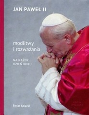 okładka Modlitwy i rozważania na każdy dzień roku, Książka | Jan Paweł II