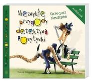 okładka Niezwykłe przygody detektywa Pozytywki. Audiobook, Książka | Grzegorz Kasdepke