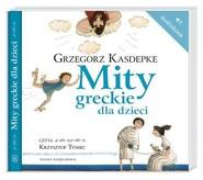 okładka Mity greckie dla dzieci. Audiobook, Książka | Grzegorz Kasdepke