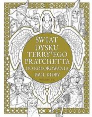 okładka Świat Dysku Terry'ego Pratchetta do kolorowania, Książka | Paul Kidby, Terry Pratchett