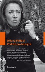 okładka Podróż po Ameryce, Książka | Fallaci Oriana