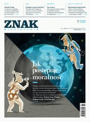 okładka ZNAK 737 10/16 Jak postępuje moralność? , Książka |