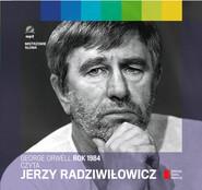 okładka Rok 1984 czyta Jerzy Radziwiłowicz. Audiobook, Książka | George Orwell