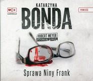 okładka Sprawa Niny Frank. Audiobook, Książka | Katarzyna Bonda