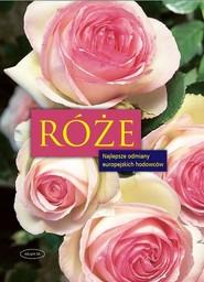 okładka Róże, Książka | Angelika Throll, Jurgen Wolff