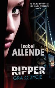 okładka Ripper. Gra o życie, Książka   Allende Isabel