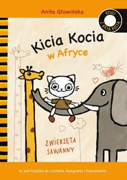okładka Kicia Kocia w Afryce, Książka   Głowińska Anita