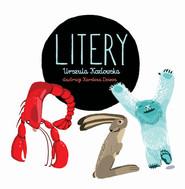 okładka Litery, Książka | Urszula Kozłowska