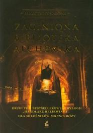 okładka Zaginiona biblioteka alchemika, Książka | Simoni Marcello