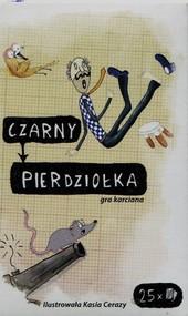 okładka Czarny Pierdziołka Gra karciana, Książka |