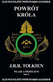 okładka Władca Pierścieni Tom 3: Powrót króla. Książka | papier | Tolkien J.R.R.