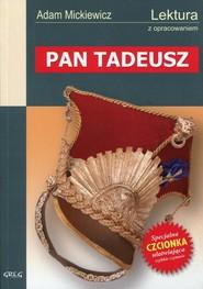 okładka Pan Tadeusz Wydanie z opracowaniem, Książka | Mickiewicz Adam