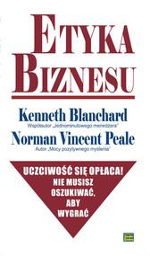 okładka Etyka biznesu, Książka | Kenneth  Blanchard, Norman Vincent Peale