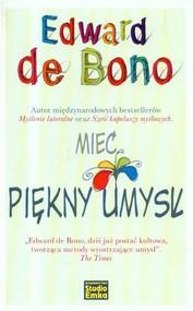 okładka Mieć piękny umysł, Książka | Bono Edward