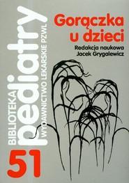 okładka Gorączka u dzieci, Książka |