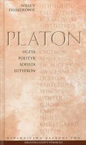 okładka Wielcy Filozofowie 3 Uczta Polityk Sofista Eutyfron, Książka | Platon