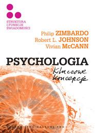 okładka Psychologia Kluczowe koncepcje Tom 3 Struktura i funkcje świadomości, Książka | Philip G. Zimbardo, Robert L.  Johnson, McCann
