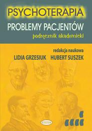 okładka Psychoterapia Problemy pacjentów Podręcznik akademicki, Książka  