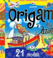 okładka Origami dla dzieci Podróż, Książka | Liliana Fabisińska