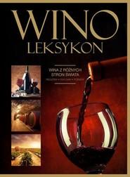 okładka Wino Leksykon, Książka | Szydłowska Marta