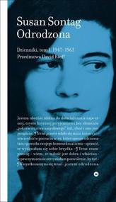 okładka Odrodzona Dzienniki Tom 1 1947-1963, Książka | Sontag Susan