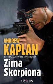 okładka Zima Skorpiona, Książka | Kaplan Andrew