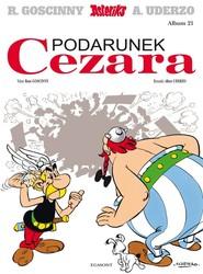okładka Asterix Podarunek Cezara Tom 21, Książka | Goscinny Rene